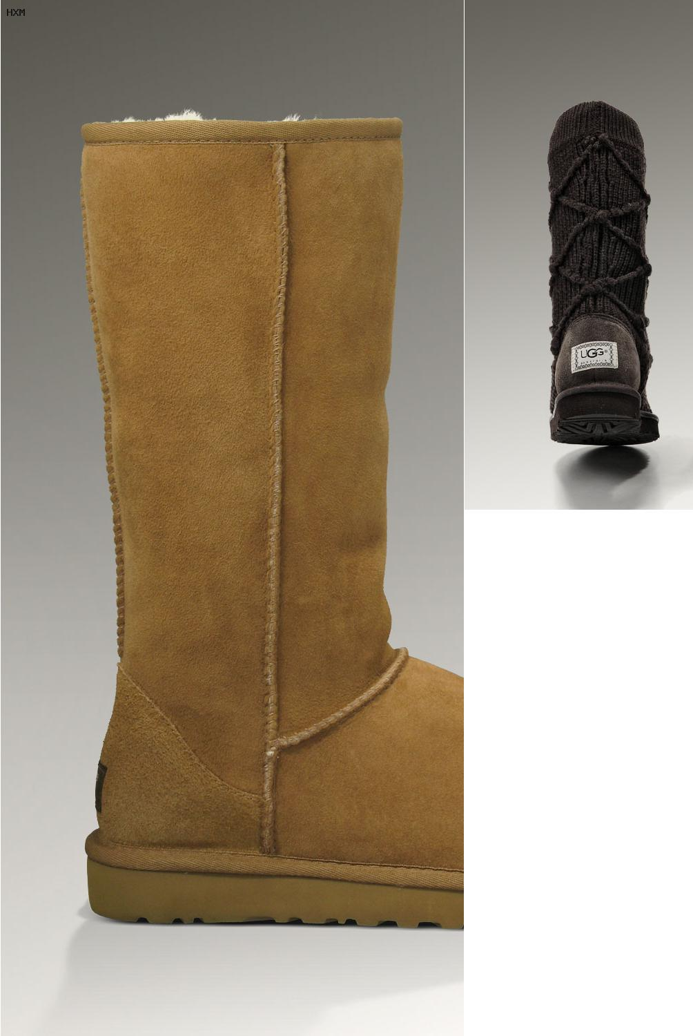 botas ugg color beige